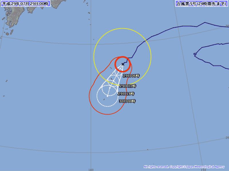 台風経路図 - imocwx.com