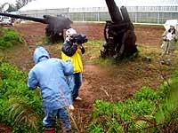 ブロードバンド環境対応のシェアキャスト配信カメラの撮影風景。