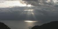 2008年父島から初日の出の映像