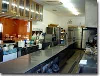 食堂「ギンネム」 調理場