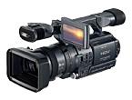ビデオカメラ「SONY HDR-FX1」
