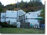 トレーラーハウス 父島の宿「毛利荘」